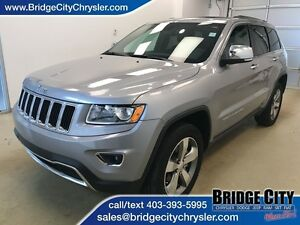 2016 Jeep Grand Cherokee Limited- Leather, Heated Seats, Sunroof