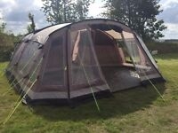 Outwell Tennessee 6 panoramic view tent