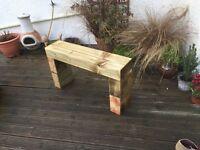 Garden Sleeper Bench