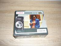 CANON lXUS 145. 16 Mega Pixels, 8 x Zoom Digital Camera Complete in Original Box