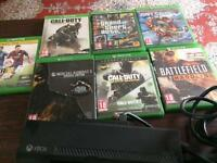 7 Xbox one games + a kinect