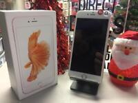 IPhone 6s Plus rose Gold o2 Tesco giff gaff