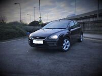 Ford Focus Zetec 1.6 Petrol in Black For Sale!