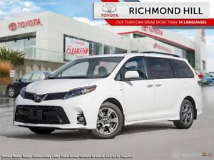 2019 Toyota Sienna Technology Package  - $178.09 /Wk