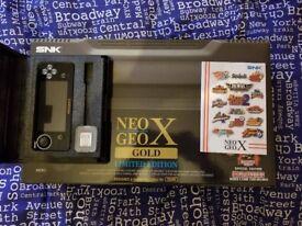 Neo-Geo X Gold. Amazing condition