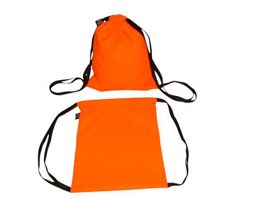 First Aid Drawstring Packwholesale 12 Orange Bagssearch Rescue Made In Usa.