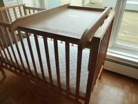Pine Cot Top Baby Changing Table (does not include cot)