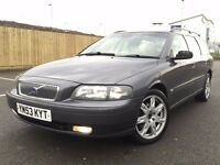 2003 (Dec 53) VOLVO V70 D5 SE - 5 Door Estate - DIESEL - Manual - GREY ** 12th April 2017 -MOT **