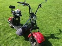 Citycoco electric bike 2 batteries