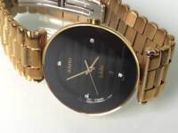 Rado jubile diamond Watch just serviced with new battery and warranty