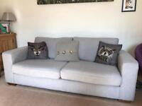 Grey M&S 3 seater sofa - 2 years old