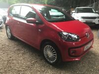 Volkswagen UP! 1.0 High up! 5dr£3,995 p/x welcome FREE 12 MONTH WARRANTY,NEW MOT