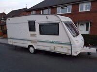 1998 YEAR 2/3 BERTH CARAVAN STERLING EROPA WITH FULL EQUIPMENT AND 2x AWNING