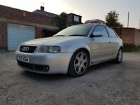 AUDI S3 1.8T QUATTRO - SPARES OR REPAIRS - STARTS AND DRIVES - HPI CLEAR - NEEDS WORK
