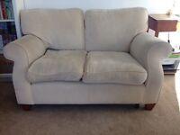 Sofa (small Laura Ashley, cream)