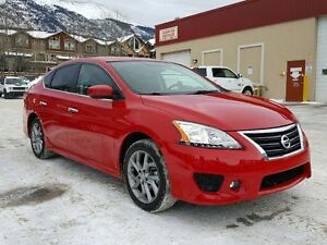 2015 Nissan Sentra SR Low Kms Loaded *Canmore Chrysler Alberta*