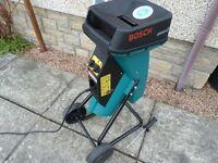 Bosch AXT 2000 HP Silent Garden Shredder