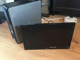 "Dell Optiplex 755 and LG 18.5"" LED monitor E1942C"