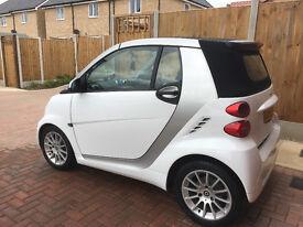 Smart Fortwo, 59 Reg, White, 0.8 Diesel Auto, Convertible