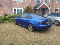 BMW 335d - Remapped to 385bhp - BMW M3 Blue - Stainless Steel Exhaust