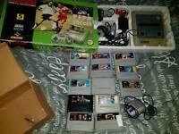 Super Nintendo SNES + games