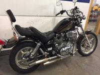 Yamaha xv1100 very good condition, back rest ,custom seat,long MOT