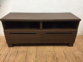 Modern TV stand with drawers