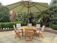 Garden Patio Teak Table