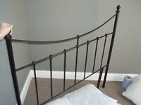 WROUGHT IRON BED HEAD