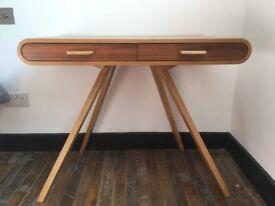 MADE Fonteyn desk oak and walnut - GREAT CONDITION