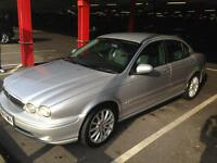Silver Jaguar X-type 2004 MOT June 2017