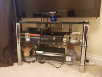 Glass TV Stand for sale in Thatcham