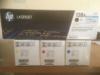 HP Laserjet ink cartridges set