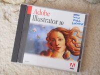 Adobe Illustrator 10 Windows Version German language only