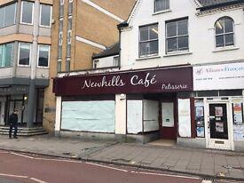 Shop /Cafe Unit - TO LET - Hills Road, Cambridge