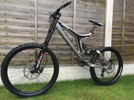 Specialized Big Hit FSR Full Suspension Downhill Bike, HIGH SPEC, DEORE