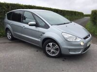 2010 FORD SMAX 1.8 TDCI 115 BHP ZETEC FINANCE AVAILABLE MAY PART EX CHEAP CAR