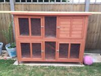Rabbit/Guinea Pig 6ft 2 storey hutch