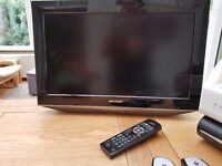 "Sharp 19"" TV"