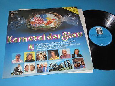 V.A. / Karneval der Stars - Vol. 4 (Germany, EMI Odeon 1C 058-29 547) - LP