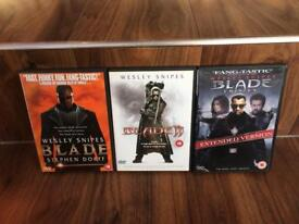 Blade complete DVD collection, x3