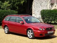 Jaguar X-Type 2.2 D DPF SE Estate 5dr NAVIGATION + HEATED LEATHER