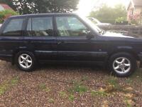 Land Rover, RANGE ROVER, Estate, 2000, Automatic, 2497 (cc), 5 doors