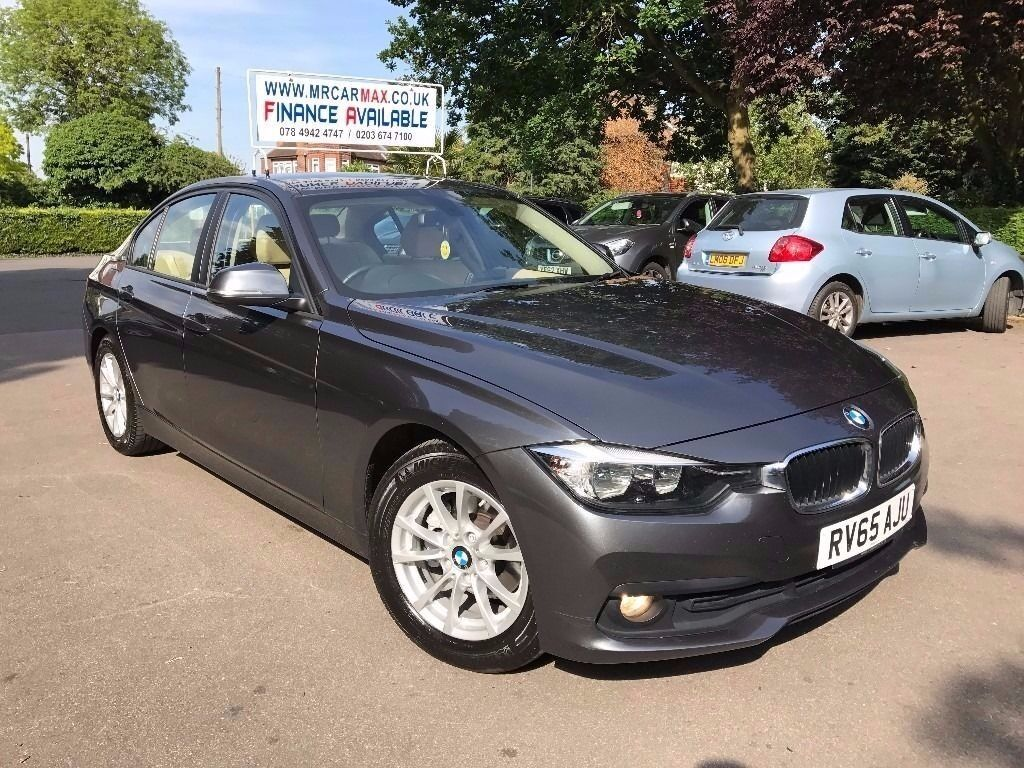 2015 BMW 320D ED PLUS 1 OWNER FROM NEW £20 TAX NAVIGATION CREAM LEATHER  FINANCE