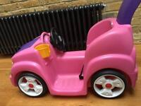 STEP 2 Push Around Pink Car Buggy
