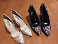 Ladies heels size 7 ( Steve Madden , one pair new