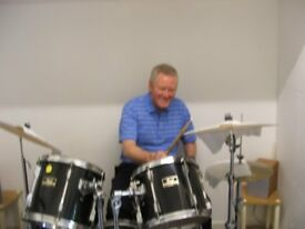 Drum Tuition available from ex-professional drummer in Lanarkshire/Glasgow . 1 to 1 lesson £20p/hour
