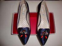 Ladies Embellished Evening Shoe Size 40