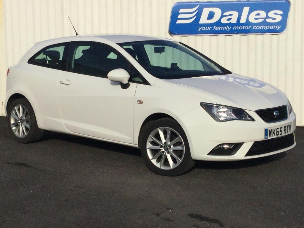 seat ibiza 1 4 toca 3dr white 2015 in redruth cornwall gumtree. Black Bedroom Furniture Sets. Home Design Ideas