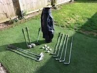 Set of Ladies Golf Clubs.. R/H